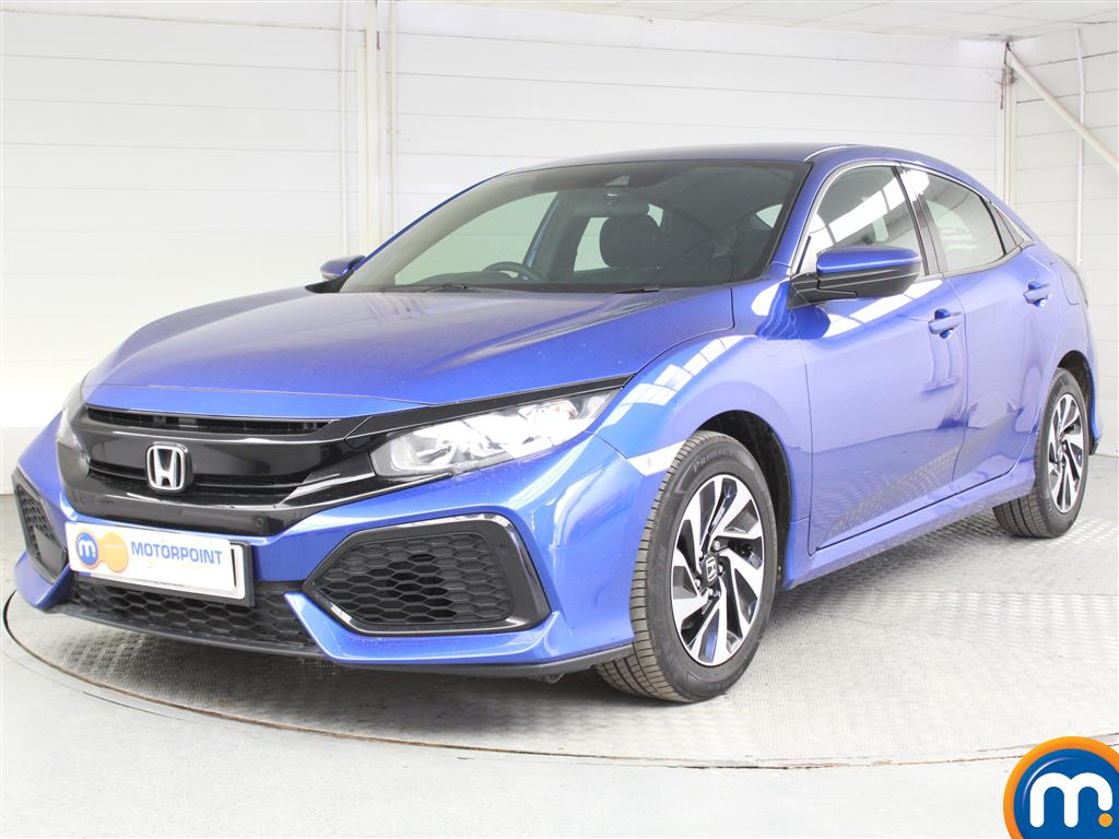 Honda Civic SE - Stock Number 1054105 Passenger side front corner