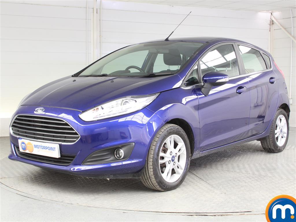 Ford Fiesta Zetec - Stock Number 1046977 Passenger side front corner