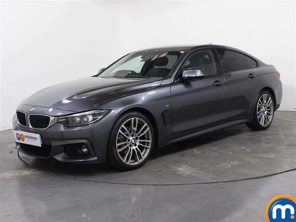 BMW 4 Series M Sport - Stock Number 1050184 Passenger side front corner