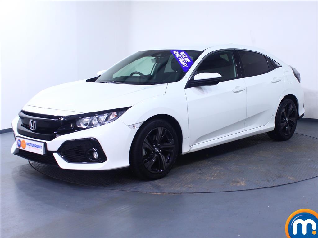 Honda Civic SR - Stock Number 1054522 Passenger side front corner