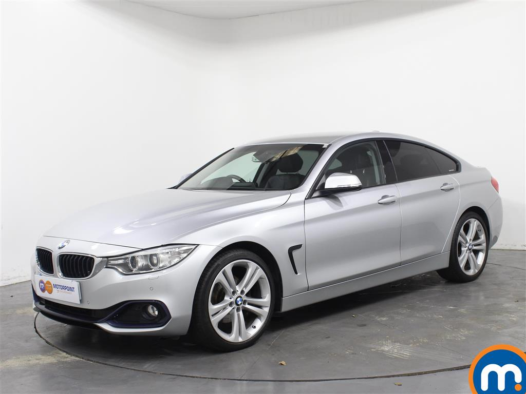 BMW 4 Series Sport - Stock Number 1046924 Passenger side front corner