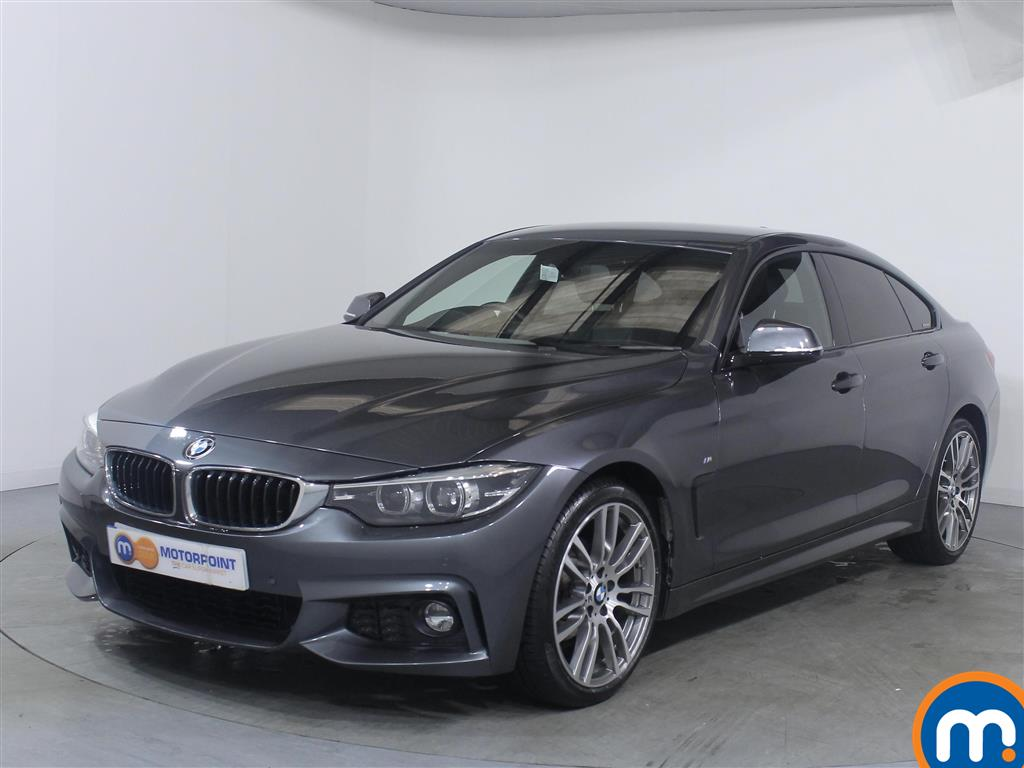 BMW 4 Series M Sport - Stock Number 1050070 Passenger side front corner