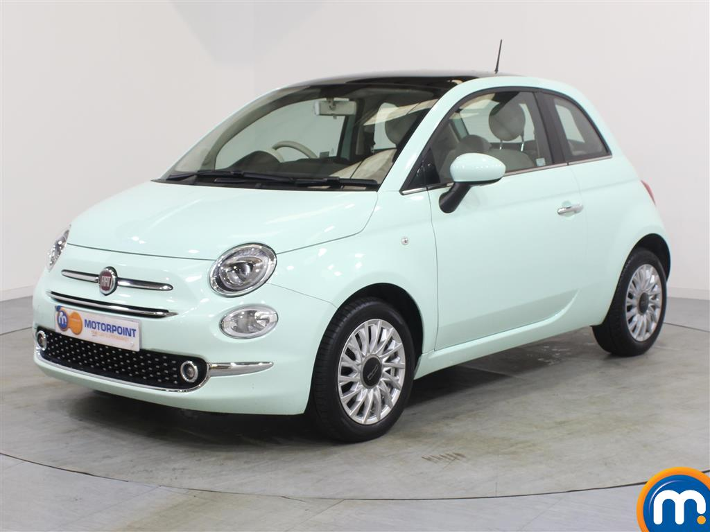Fiat 500 Lounge - Stock Number 1050765 Passenger side front corner