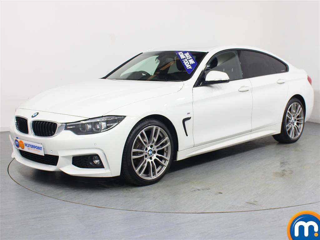 BMW 4 Series M Sport - Stock Number 1050188 Passenger side front corner