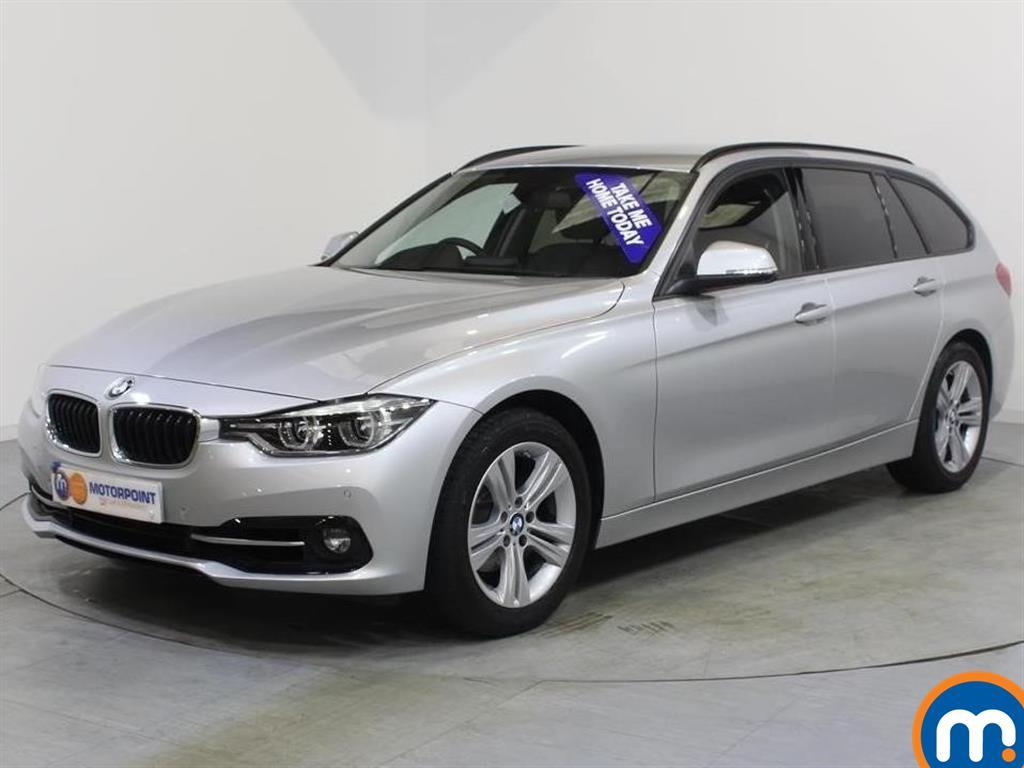 BMW 3 Series Sport - Stock Number 1053624 Passenger side front corner