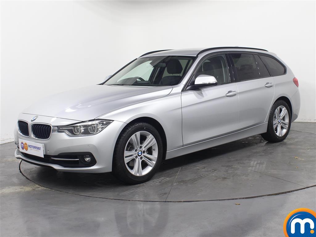 BMW 3 Series Sport - Stock Number 1053628 Passenger side front corner