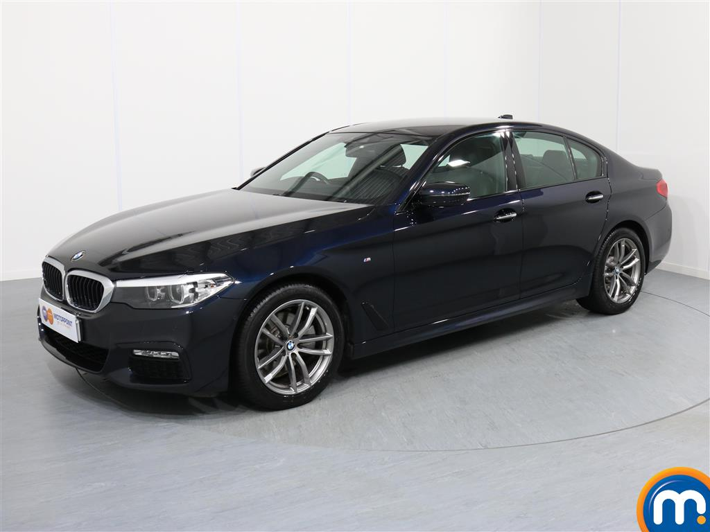 BMW 5 Series M Sport - Stock Number 1052757 Passenger side front corner