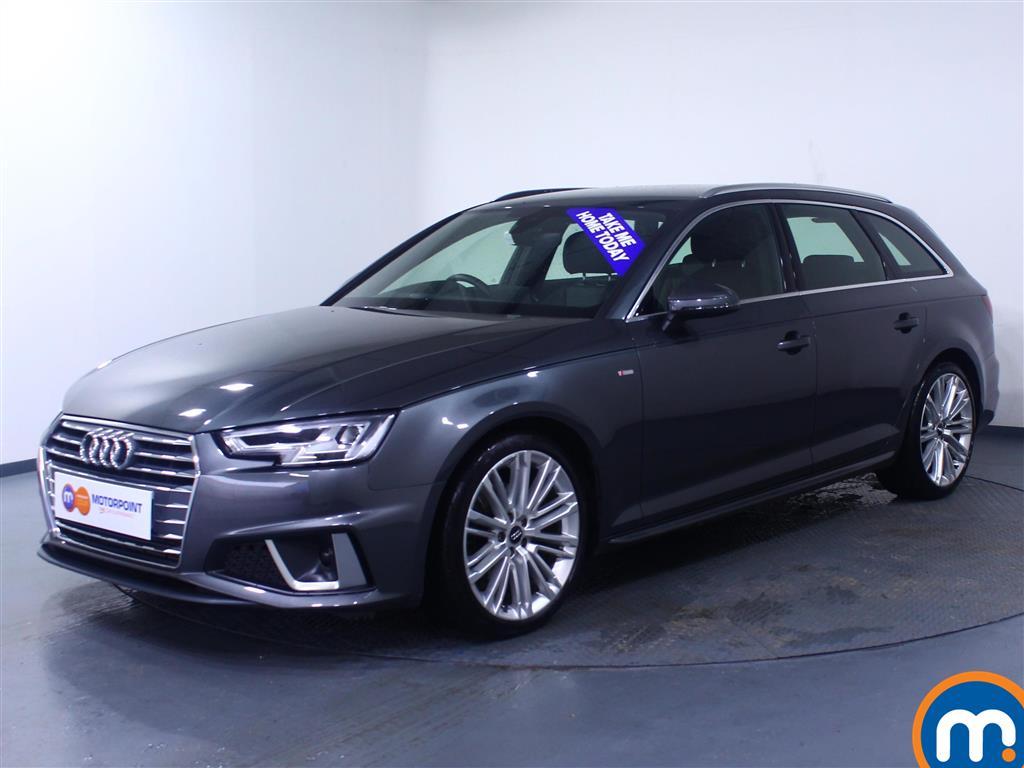 Audi A4 S Line - Stock Number 1052850 Passenger side front corner