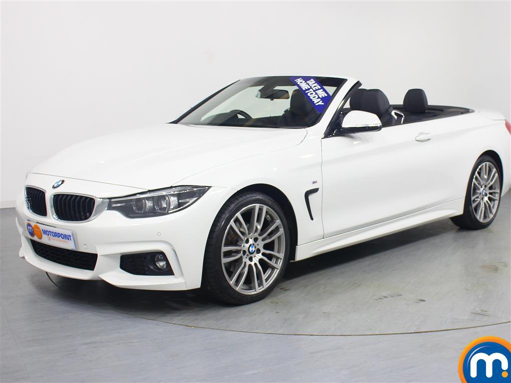 BMW 4 Series M Sport - Stock Number 1053481 Passenger side front corner