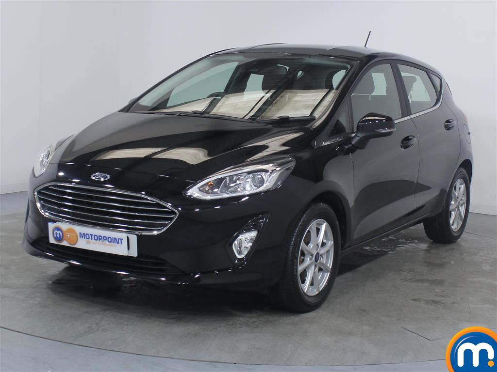 Ford Fiesta Zetec - Stock Number 1054554 Passenger side front corner