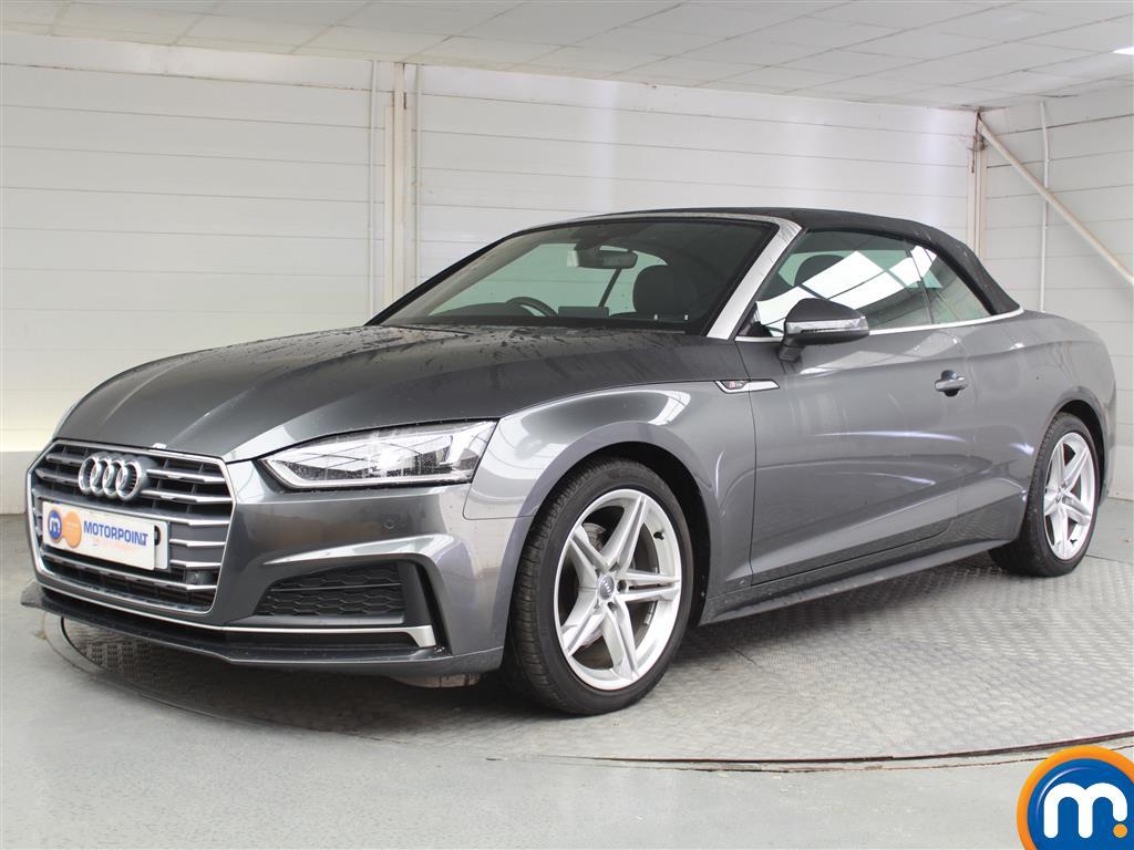 Audi A5 S Line - Stock Number 1052572 Passenger side front corner