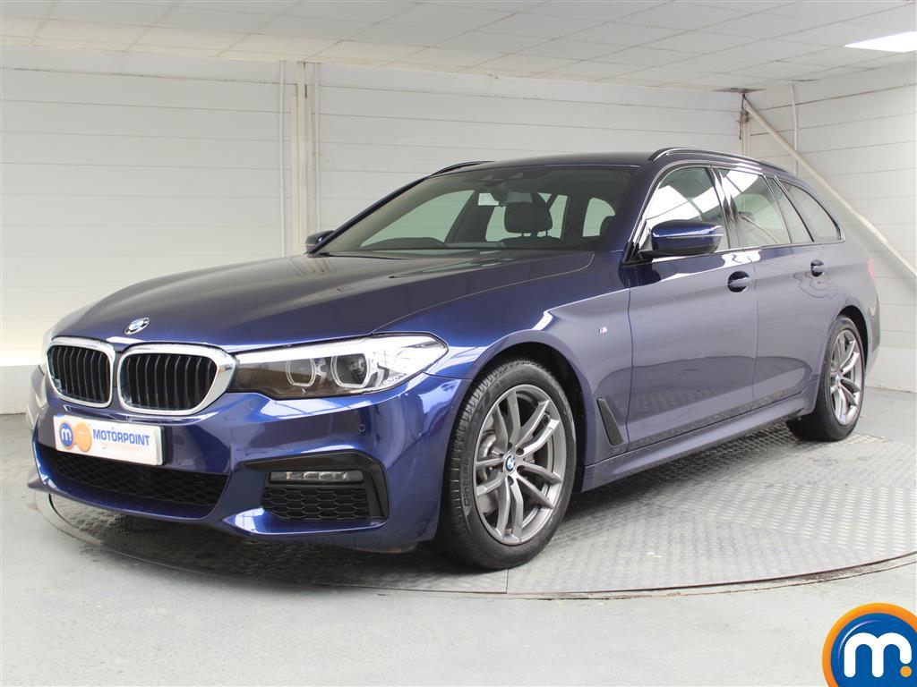 BMW 5 Series M Sport - Stock Number 1055874 Passenger side front corner