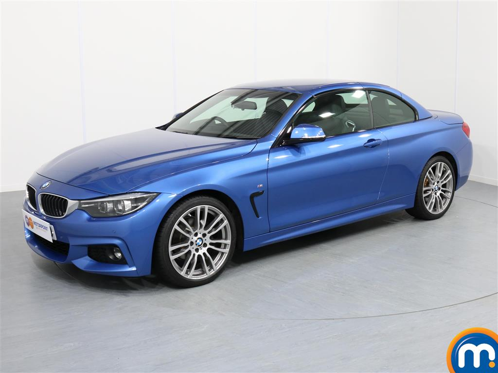 BMW 4 Series M Sport - Stock Number 1054127 Passenger side front corner