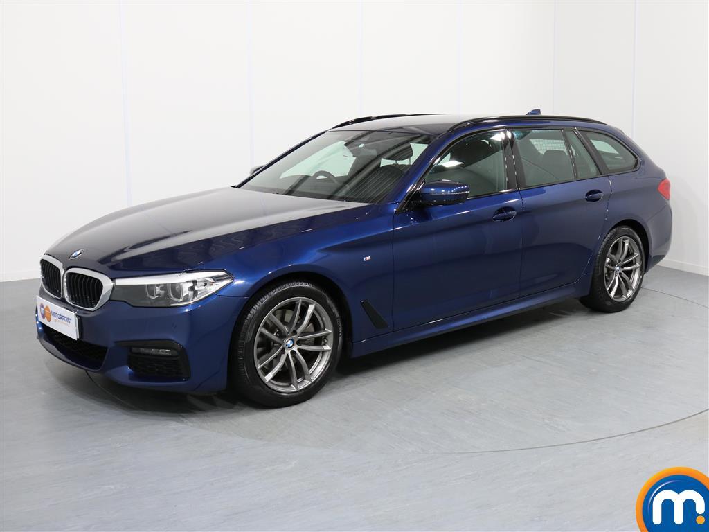 BMW 5 Series M Sport - Stock Number 1055871 Passenger side front corner