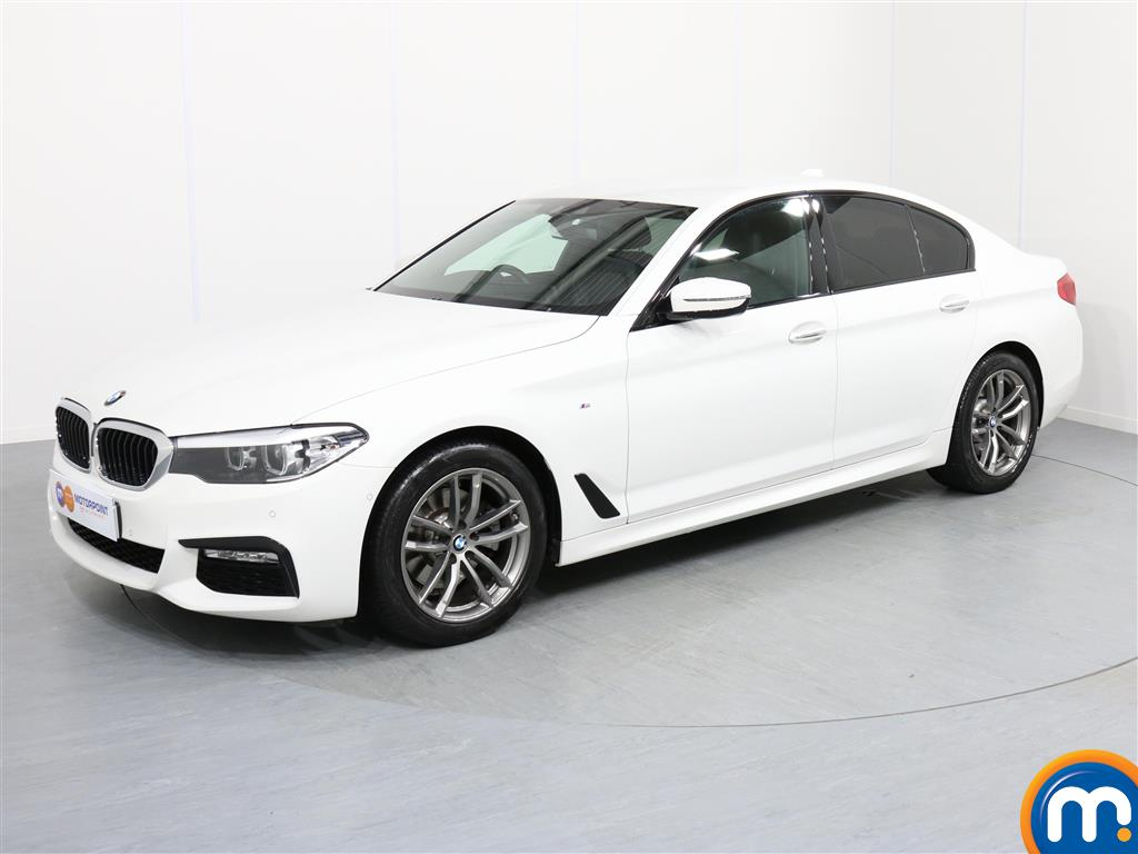 BMW 5 Series M Sport - Stock Number 1056264 Passenger side front corner