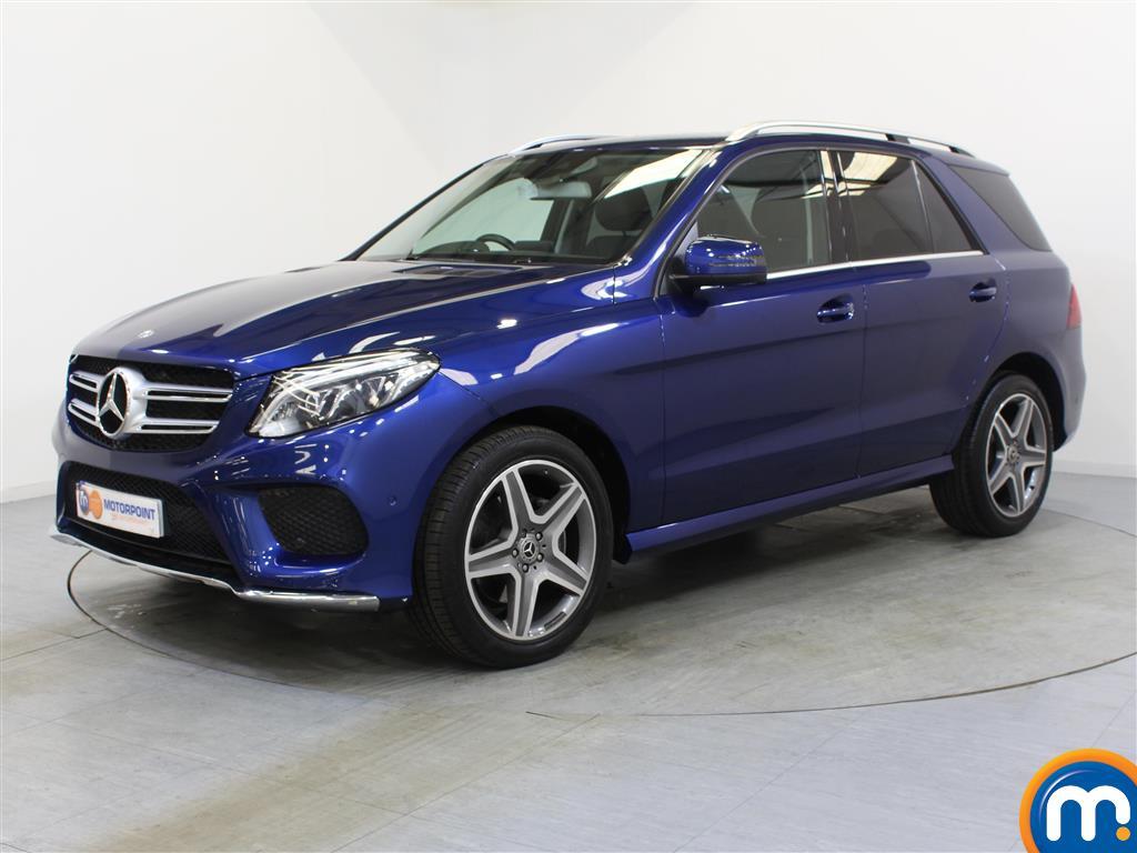 Mercedes-Benz GLE AMG Line - Stock Number 1055781 Passenger side front corner