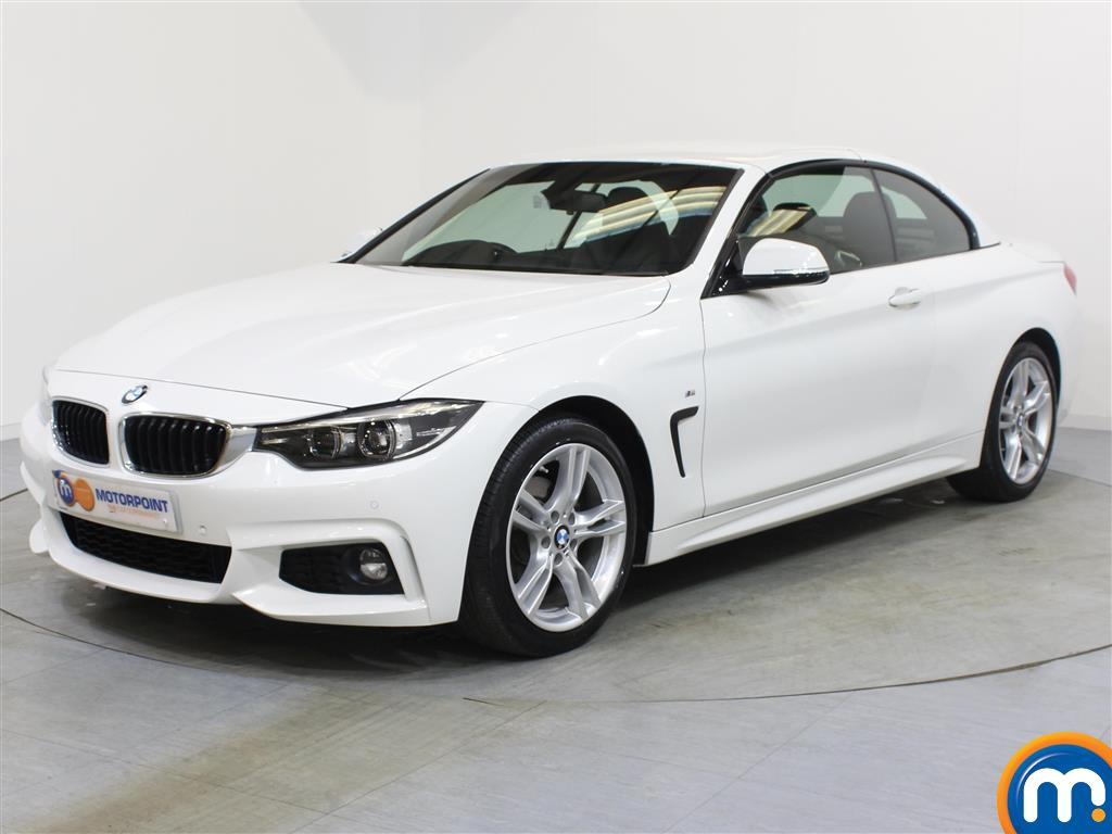 BMW 4 Series M Sport - Stock Number 1052775 Passenger side front corner