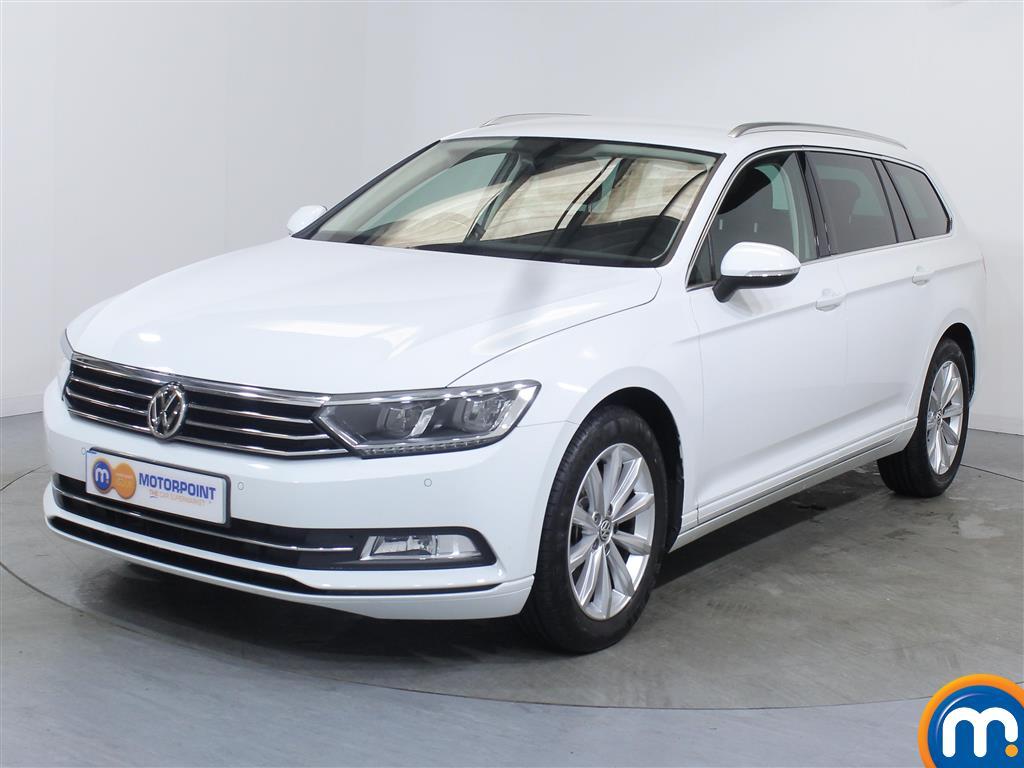 Volkswagen Passat SE Business - Stock Number 1054653 Passenger side front corner