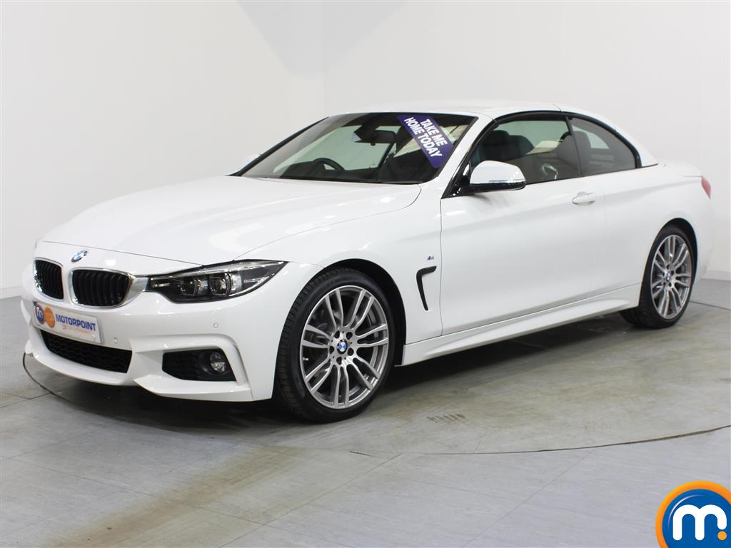 BMW 4 Series M Sport - Stock Number 1053484 Passenger side front corner