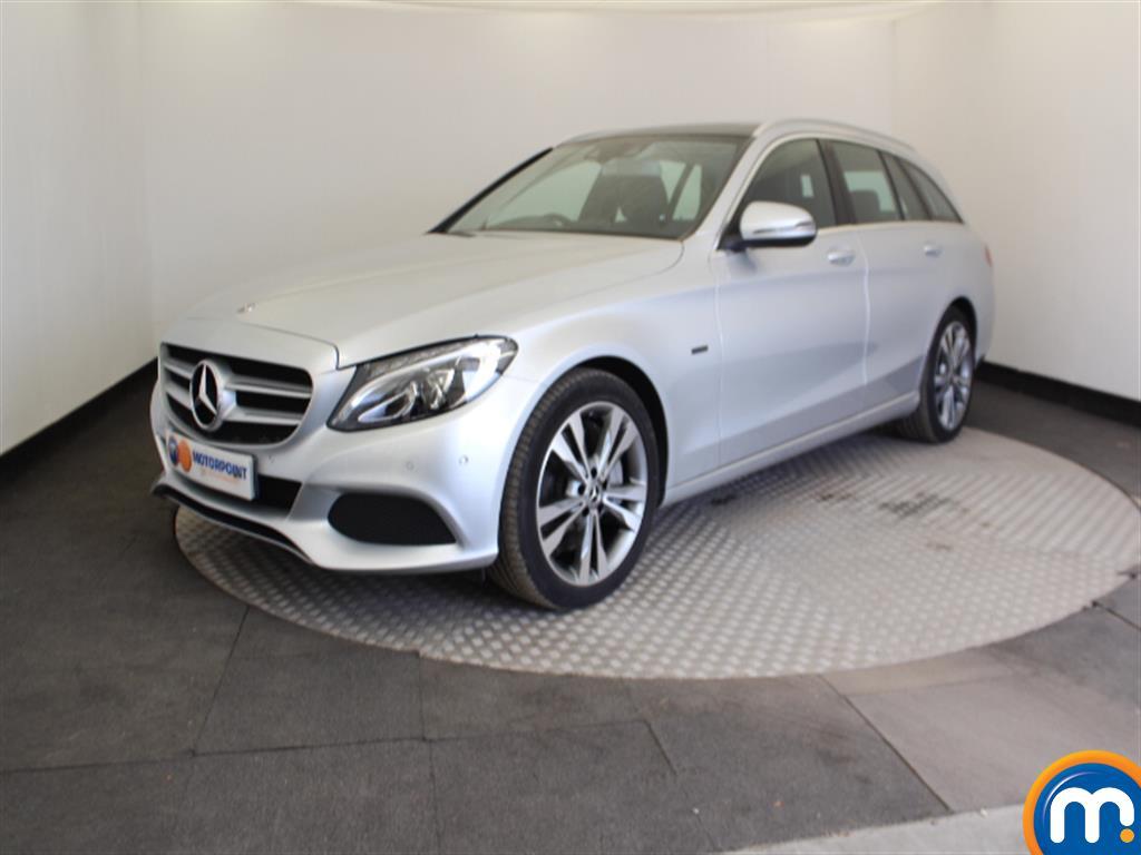 Mercedes-Benz C Class Sport - Stock Number 1054637 Passenger side front corner
