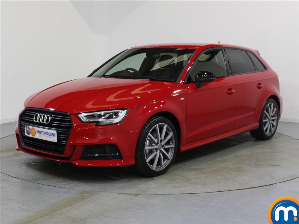Audi A3 Black Edition - Stock Number 1056738 Passenger side front corner