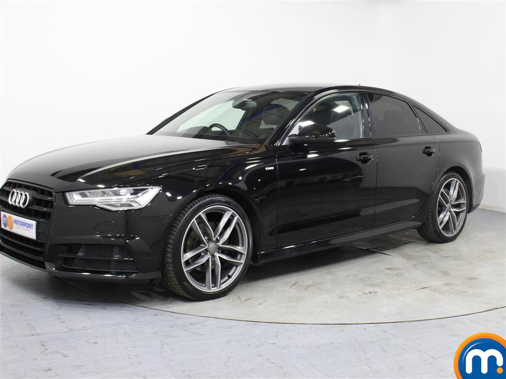Audi A6 Black Edition - Stock Number 1054377 Passenger side front corner