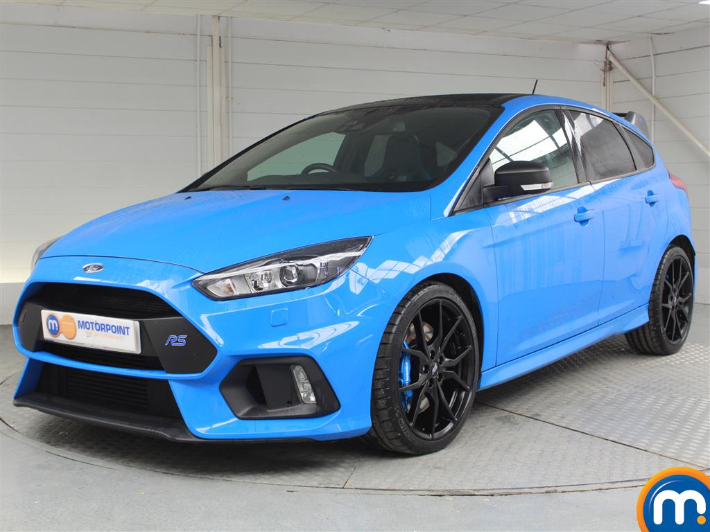 Ford Focus Rs Edition - Stock Number 1051077 Passenger side front corner