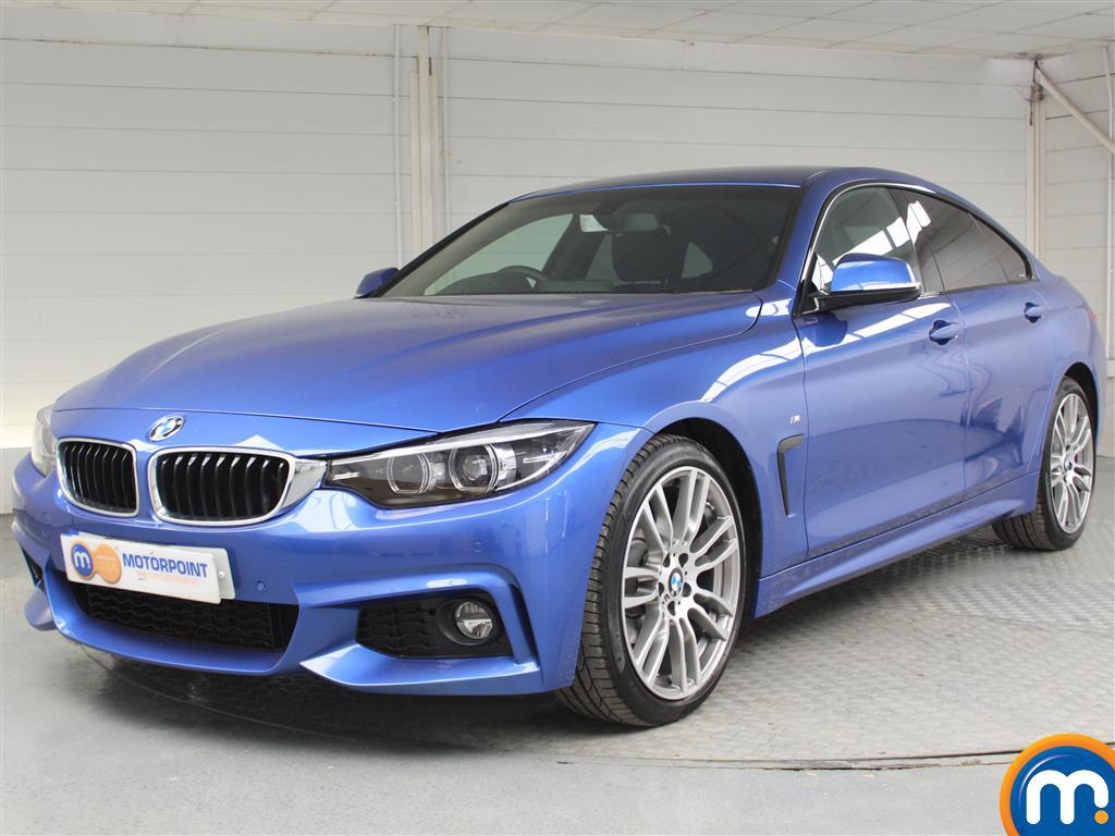 BMW 4 Series M Sport - Stock Number 1050172 Passenger side front corner