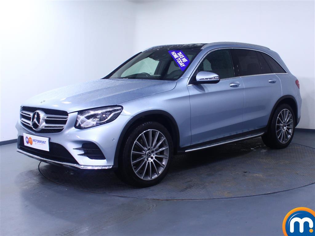 Mercedes-Benz GLC AMG Line - Stock Number 1057171 Passenger side front corner