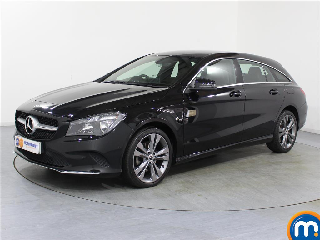 Mercedes-Benz Cla Class Sport - Stock Number 1047542 Passenger side front corner
