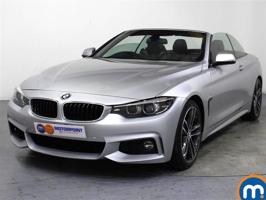 BMW 4 Series M Sport - Stock Number 1045735 Passenger side front corner