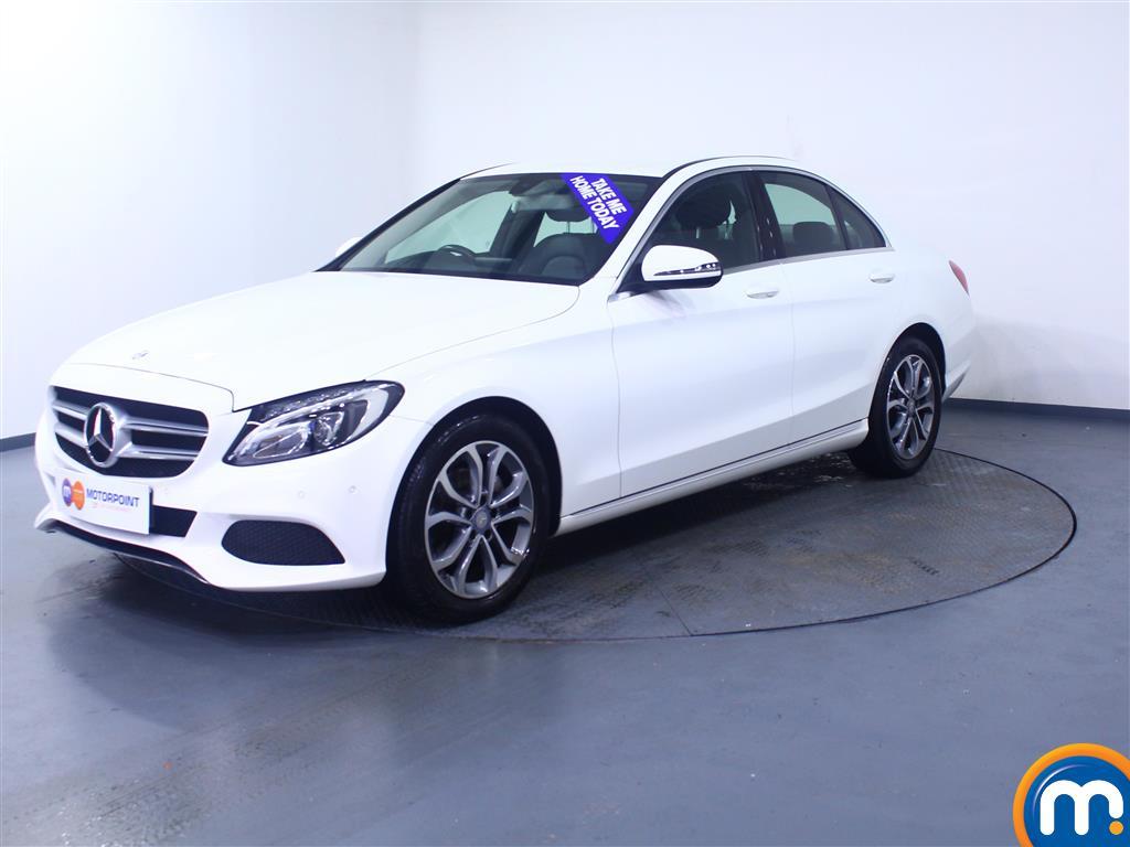 Mercedes-Benz C Class Sport - Stock Number 1056251 Passenger side front corner