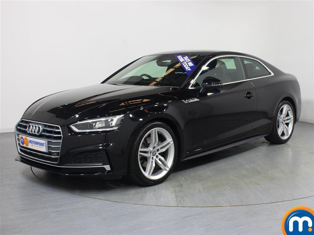 Audi A5 S Line - Stock Number 1055206 Passenger side front corner