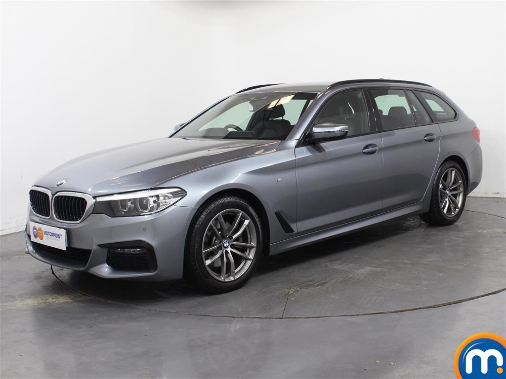 BMW 5 Series M Sport - Stock Number 1055877 Passenger side front corner