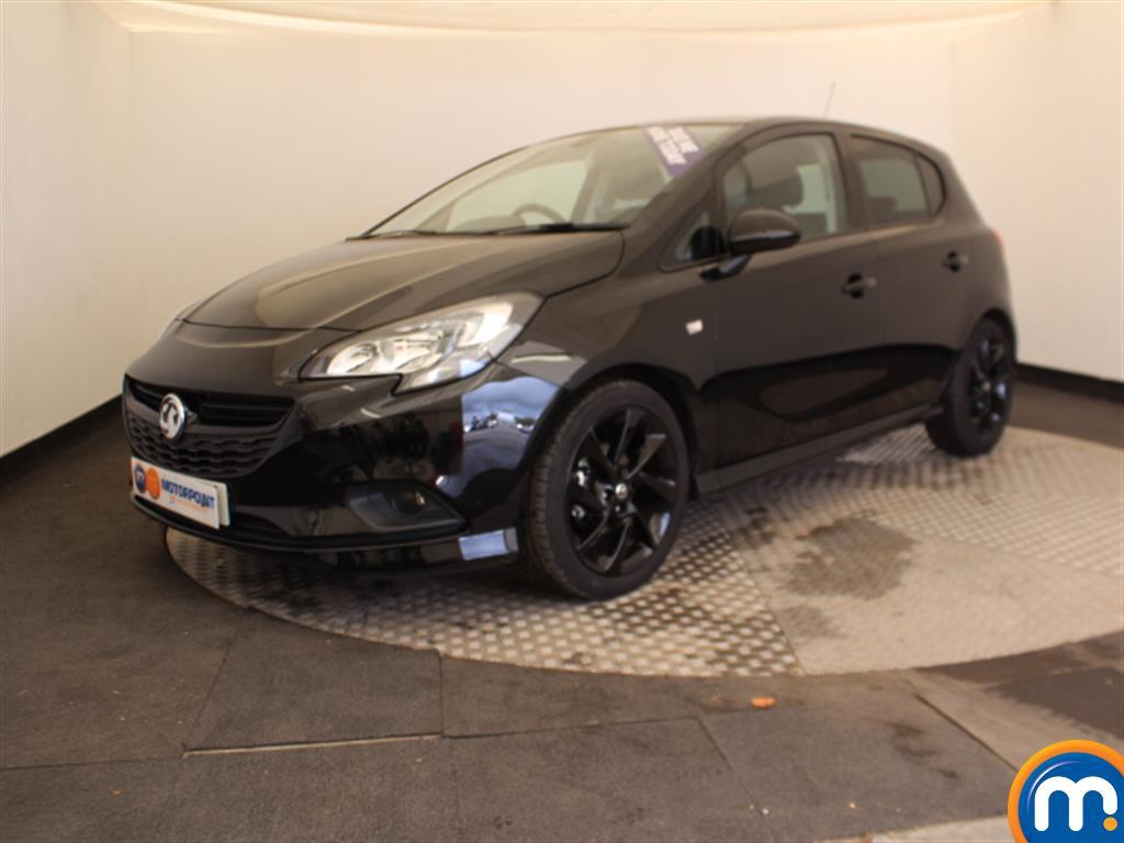 Vauxhall Corsa SRi Vx-line Nav Black - Stock Number 1055219 Passenger side front corner
