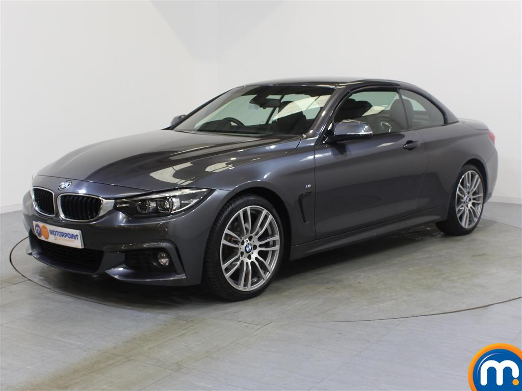 BMW 4 Series M Sport - Stock Number 1053489 Passenger side front corner