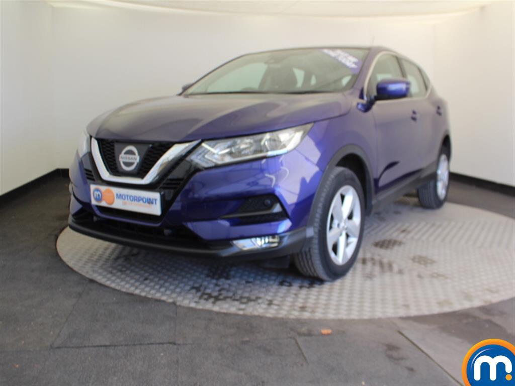 Nissan Qashqai Acenta - Stock Number 1055315 Passenger side front corner