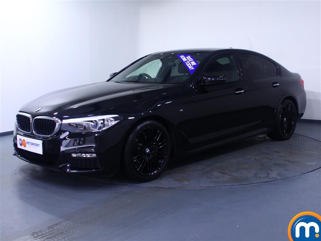 BMW 5 Series M Sport - Stock Number 1055331 Passenger side front corner