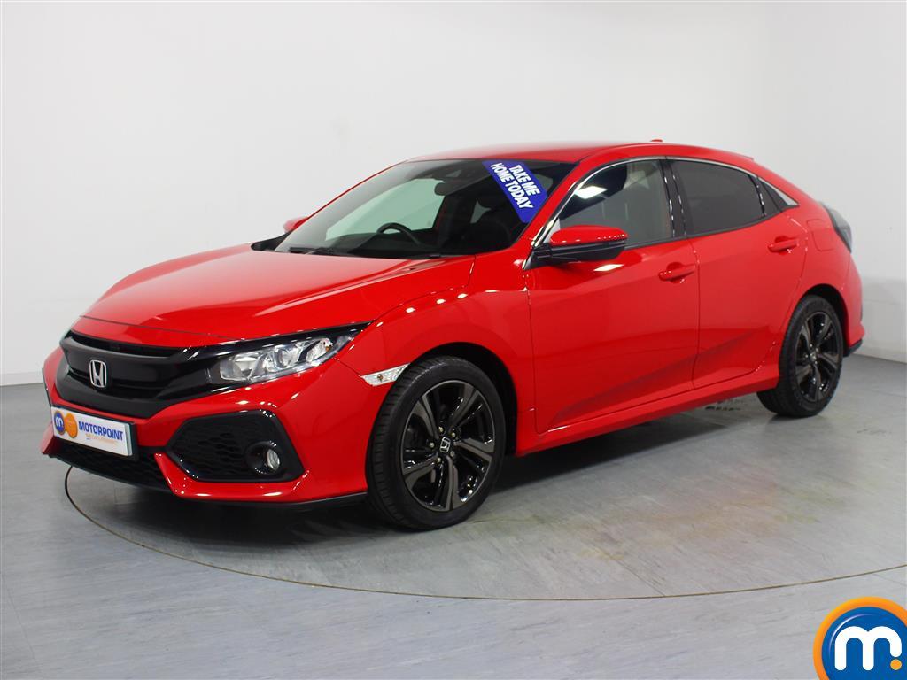 Honda Civic SR - Stock Number 1054907 Passenger side front corner