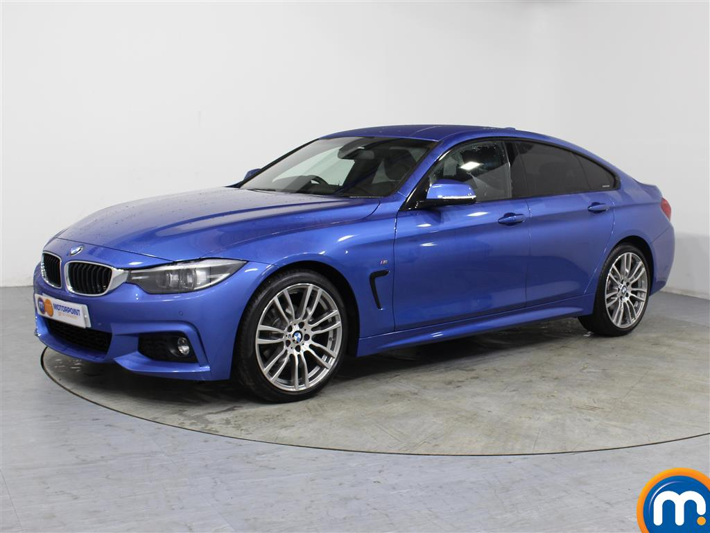 BMW 4 Series M Sport - Stock Number 1050179 Passenger side front corner
