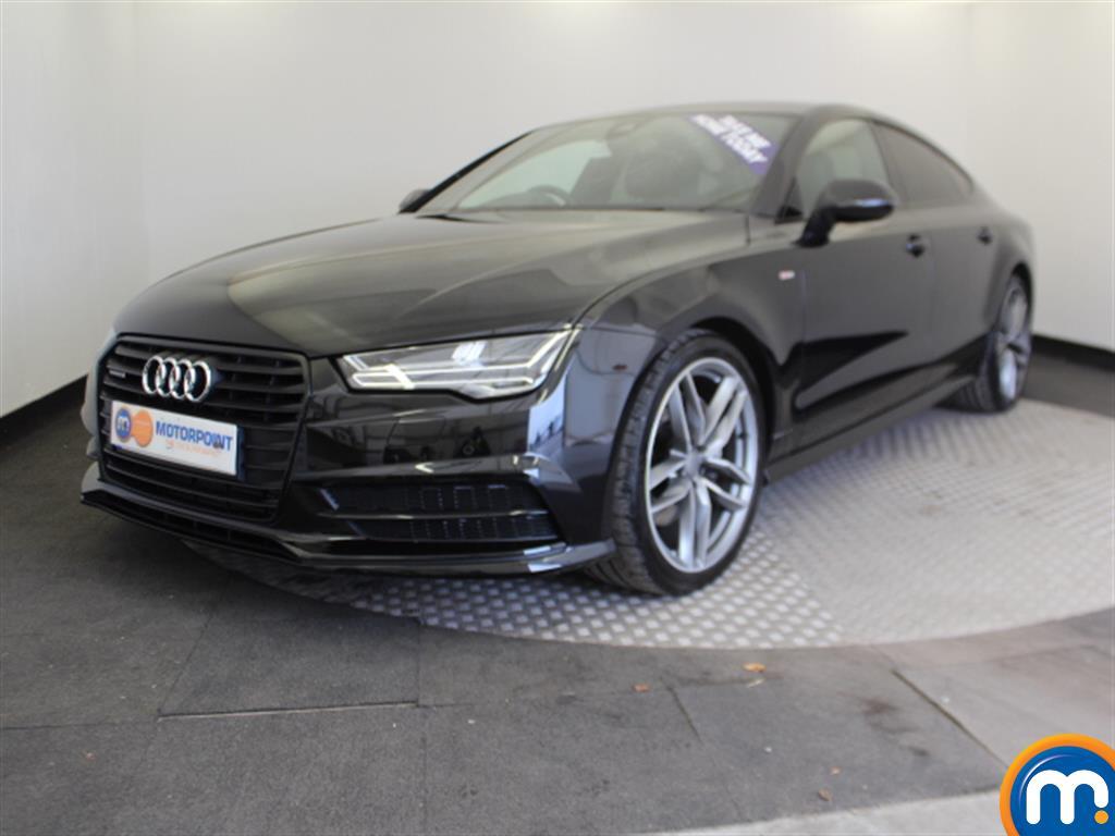 Audi A7 Black Edition - Stock Number 1054290 Passenger side front corner