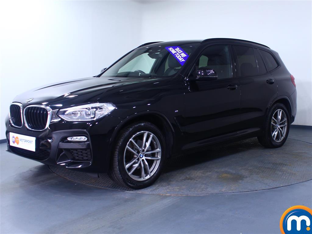 BMW X3 M Sport - Stock Number 1055334 Passenger side front corner