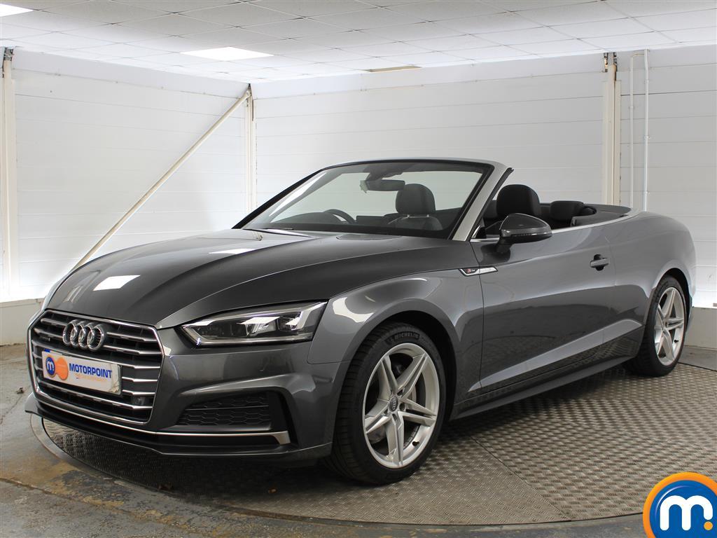 Audi A5 S Line - Stock Number 1052748 Passenger side front corner