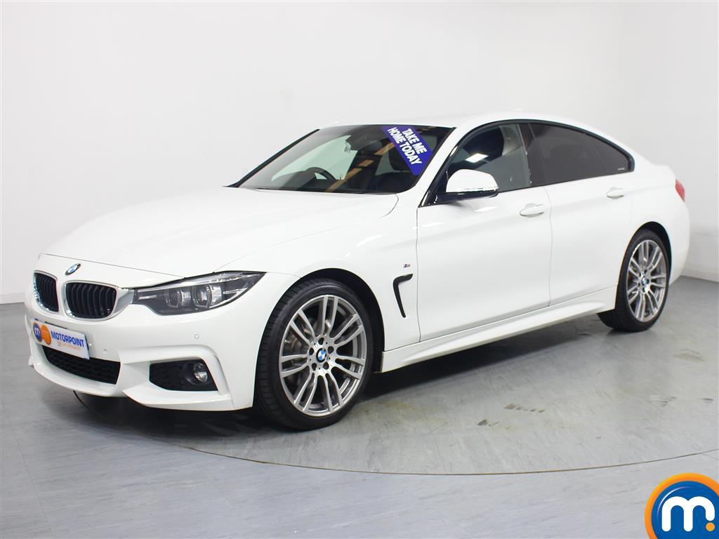 BMW 4 Series M Sport - Stock Number 1055520 Passenger side front corner