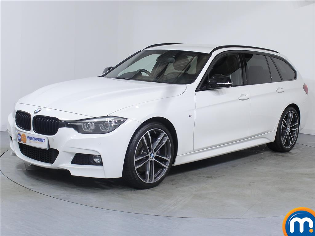 BMW 3 Series M Sport Shadow Edition - Stock Number 1053600 Passenger side front corner