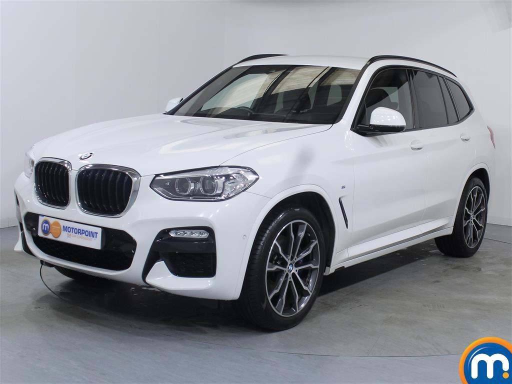BMW X3 M Sport - Stock Number 1050308 Passenger side front corner
