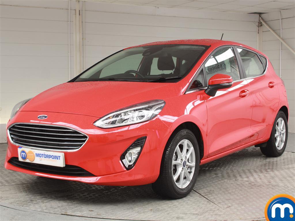 Ford Fiesta Zetec - Stock Number 1057755 Passenger side front corner
