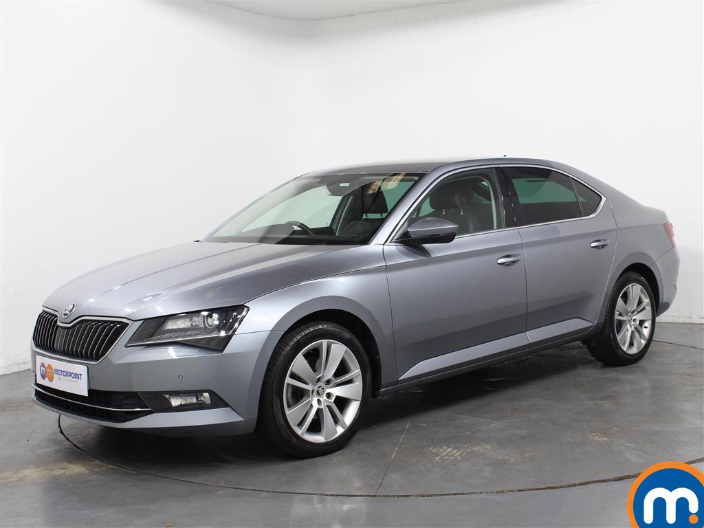 Skoda Superb SE L Executive - Stock Number 1057122 Passenger side front corner