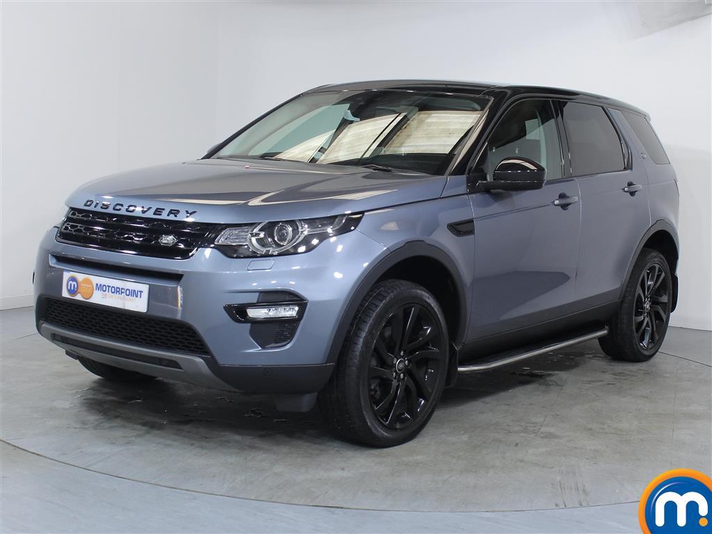 Land Rover Discovery Sport HSE Black - Stock Number 1056059 Passenger side front corner
