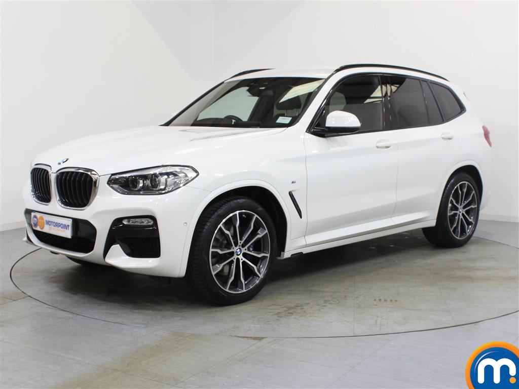 BMW X3 M Sport - Stock Number 1057380 Passenger side front corner
